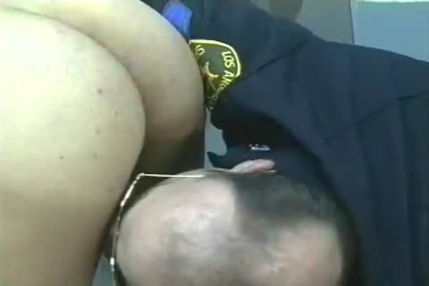 fellows In Uniform get Filled And banged doggy style.