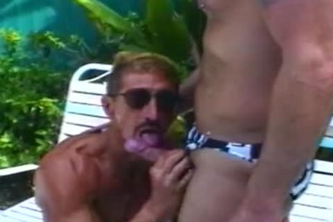 Two twink Musclers kissing in advance of Tthellos chaby plowing