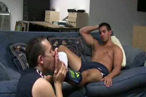 RELAX ON The SOFA\'          homosexual FOOT WORShiP