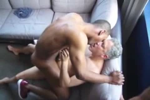 black gay man banged By Two Ultimate strumpets