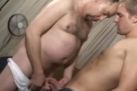Tattooed Buddy gets pounded In doggy style