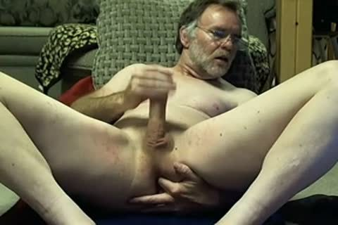 College Professor dad Fingers his asshole On cam