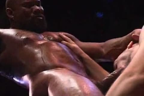 Remy Delaine hammered by Muscled-Up black man