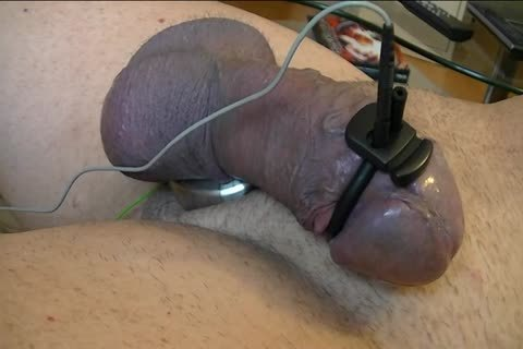 Just Having enjoyment With My ET-312, A Butplug Ring And pecker Electrode. Complete Session Was 45 Minutes