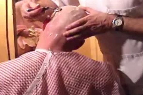 This Harder Treats His Client Well  bj Shave Bald Sex Her Off II