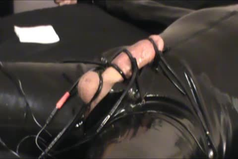 Iliff Applies Electro To Vidar's rod For Over An Hour And gets Three worthwhile Orgasms.