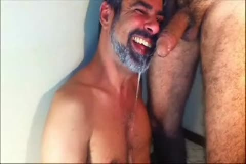 One Of The superlatively nice cock suckers From Brasil In A painfully Facefucking Action.