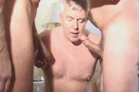 old mature Suit Silver Daddy Have admirable Sex In Hotel Room