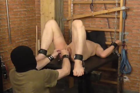 A bdsm-session In A lovely Afternoon. The master Likes To Play With The Balls Of The serf And spanking The wazoo. master: Sadist52 serf: MasoFun