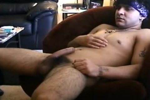 concupiscent homosexual man Is sucking A monstrous dick dong