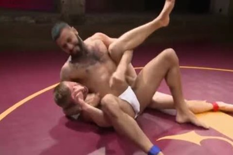 delicious Father Love To Play With Each Other In The Wrestling Ring.