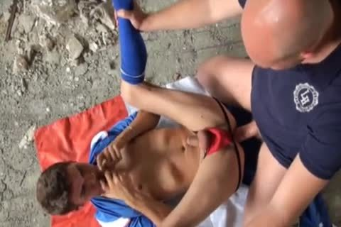 Soccer Fucker Daddy And Lad