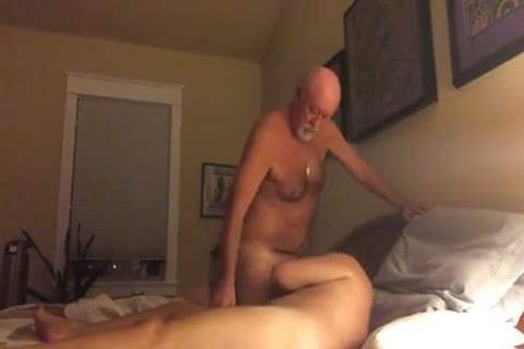 old man couple On cam