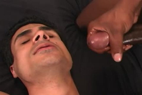 amateur dude receives poked In The booty By A black man
