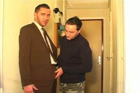 A innocent str8 lad Serviced His large dick By A lad In Spite Of Him!