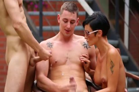 Luscious guys nailing With girls