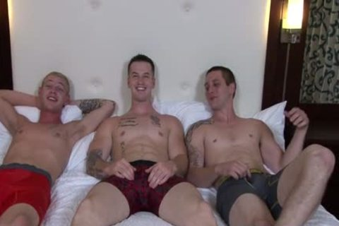 tasty gays 3some With ejaculation