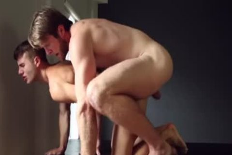 Muscle homo ass-copulation With cumshot