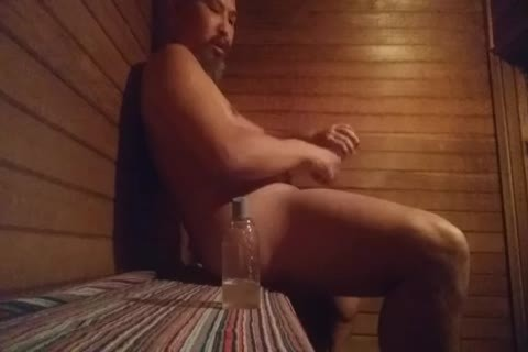 Sauna pleasure With dildos