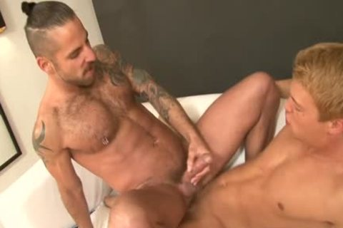 large rod Son piss And cumshot