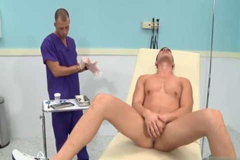 large 10-Pounder Doctor threesome With ejaculation