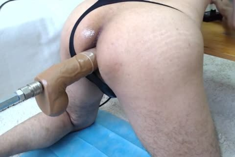 Sex Machine And My cum To My butthole