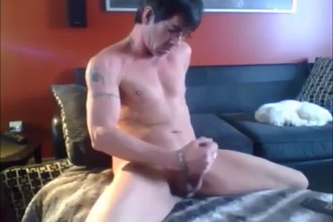 he Spends The Day Masturbating In His sofa