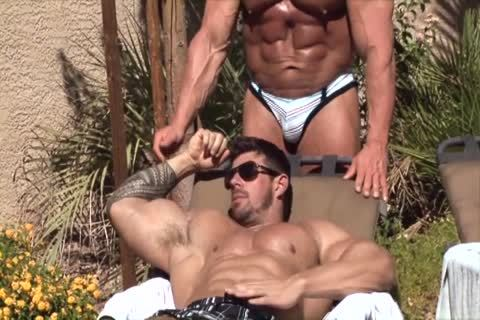 Zeb bangs A beefy Muscle guy