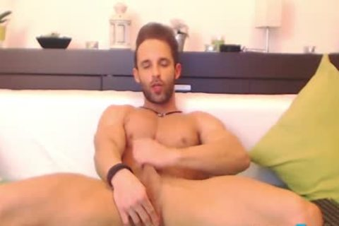 Flirt4Free Gustavo Muscle - Ripped Hunk Dildos His dirty lusty pooper