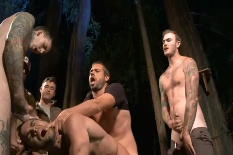 bound twink gets Barebacked fucked By Roughnecks ( bdsm )