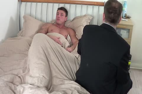 giant guy gets A spanking