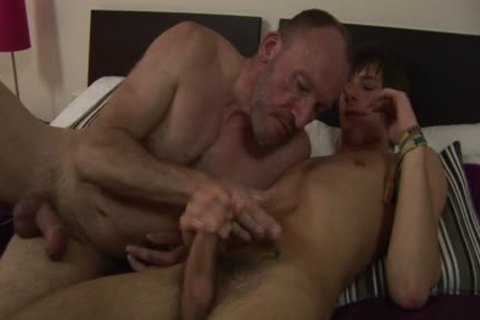 MenVsBoys - Balding homo hammers The chocolate hole Of A lusty lad