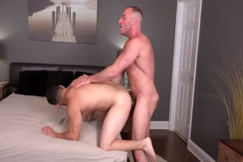 Muscle gay ass invasion And cumshot
