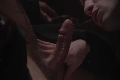 Muscle homo spanking And goo flow