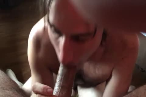 engulfing A small Uncut dick For A large Load!