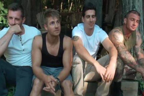 The Cabin Series 4 bound And poked In The Woods Tyler Alexander