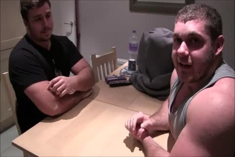 large Connor Arm Wrestling And lenience With throbbing Dan And Punishing Shane