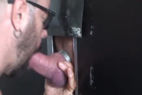 Beer Can ramrod get blowjob