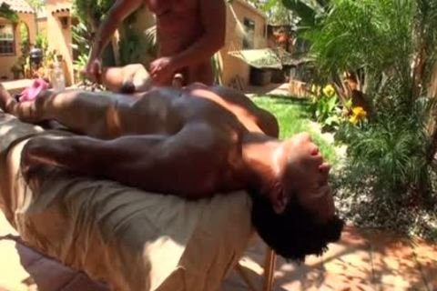 Poolside Massage.