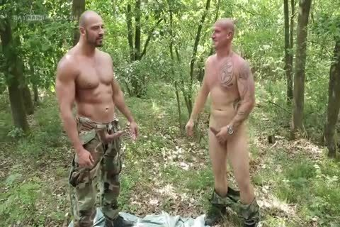 lad Hard Barefucked By 2 Soldiers