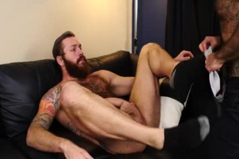 Atlas Grant Takes Bear rod And Swallows cum