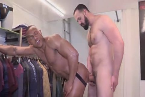 unprotected ShopaSexual With AndyOnassis & SantiSexy