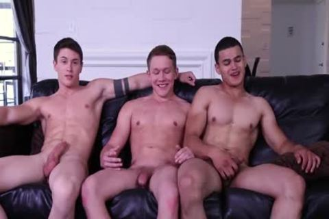 cute man Summer 3WAY! College weenies Fool Around And pound!
