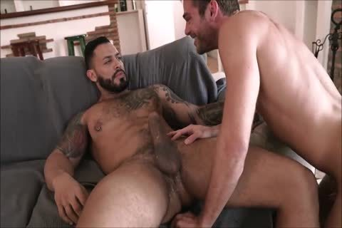 gorgeous Daddy With humongous penis Breeds His boy raw