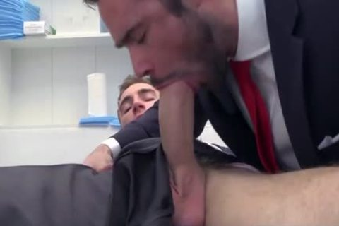 large dong Doctor ass slam With sperm flow