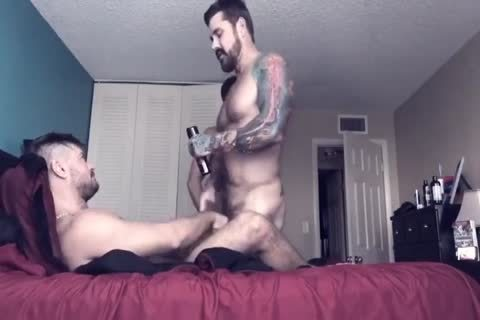College homosexual Roommate likes unprotected anal nailing