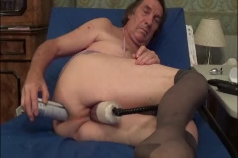 shemale tgirl Sissy Pumping ass sex toy lingerie  Bas 31