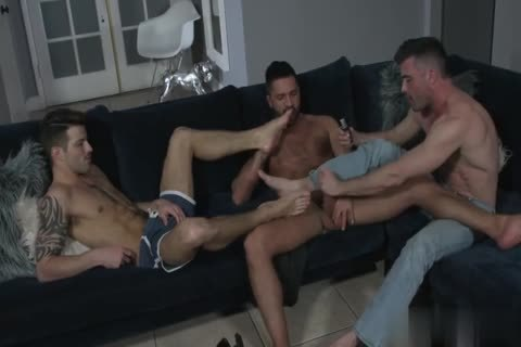 Hotel Massage bang With Two Hunks