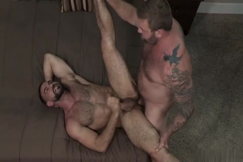 homosexual Muscle rods a-hole fuck And cumshot