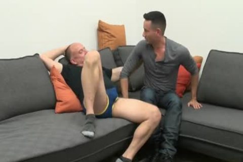 young guy Sucks & receives banged By older Daddy